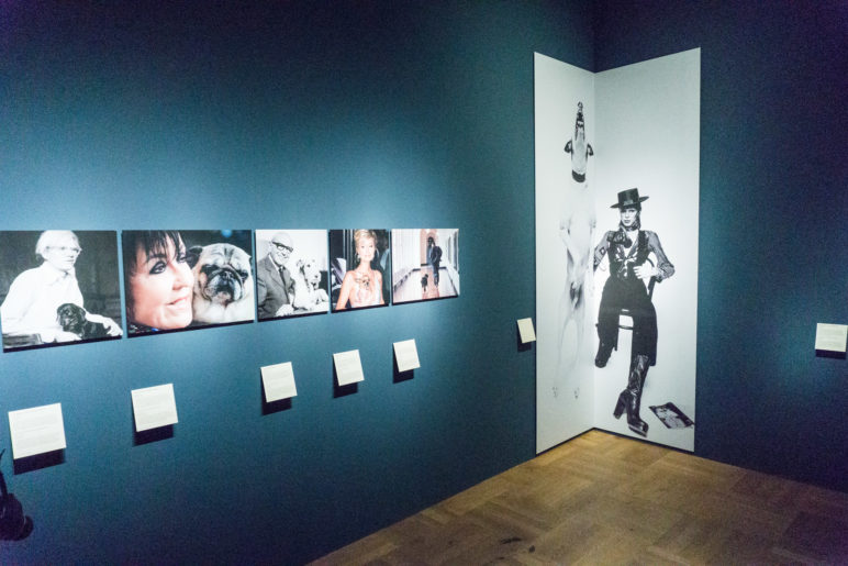 Prominente und ihre Hunde - beim Bloggerwalk im Bayerischen Nationalmuseum