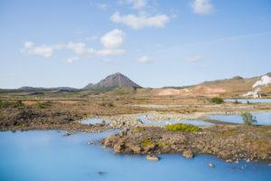 Die Umgebung des Blauen Sees