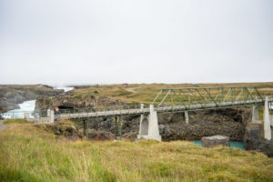 Die alte Brücke über den Die alte Brücke über den Skjálfandafljót