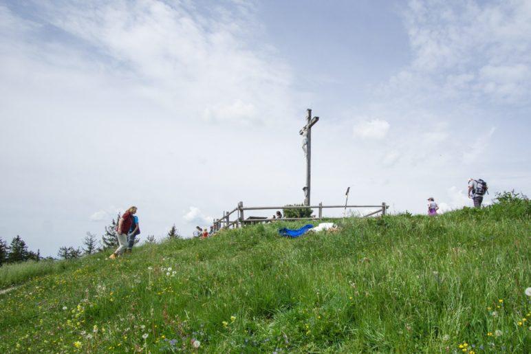 Panormamberg über den Leitzachtal: Der 1187 Meter hohe Schwarzenberg