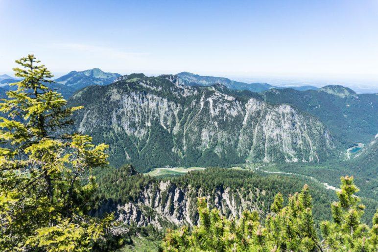 Die Chiemgauer Alpen nördlich des Dürrnbachhorns