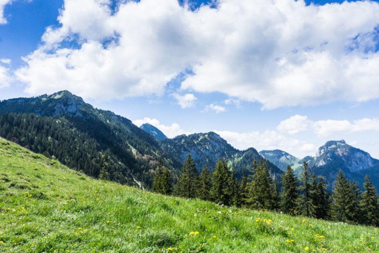 Hochsalwand, Wendelstein, Heidwand und Breitenstein