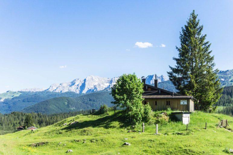 Die Traunsteiner Hütte / Winklmooshütte des DAV
