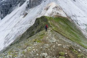 Im Abstieg vom Gamskogel
