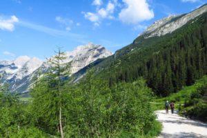 Wandern durch das Karwendeltal