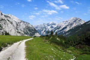 Ausblick auf unseren Weg durch das Karwendeltal
