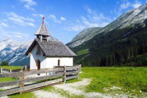 Die kleine Kapelle an der Lochalm