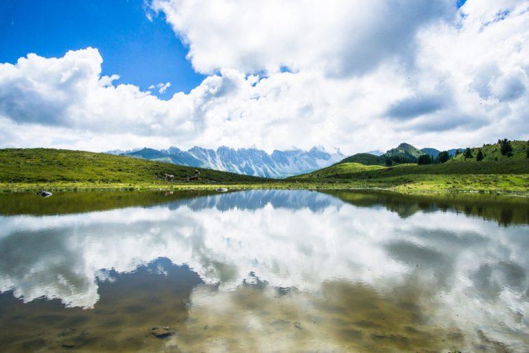 Jetzt ist klar, warum der Salfeiner See Spiegel der Kalkkögel genannt wird