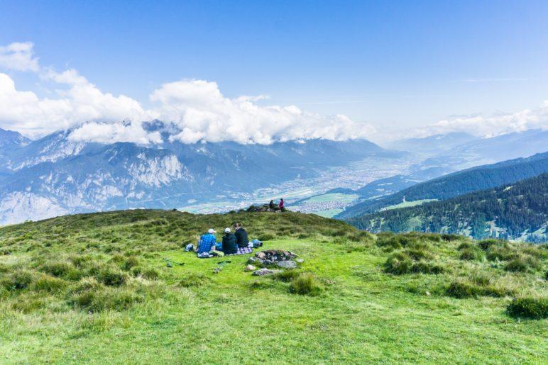 Die Nordkette, Innsbruck und das Unterinntal