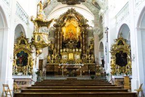 Die Chorkirche von St. Georgenberg