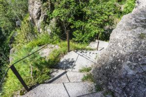 Noch einmal Treppen in der Kaltenbachwildnis