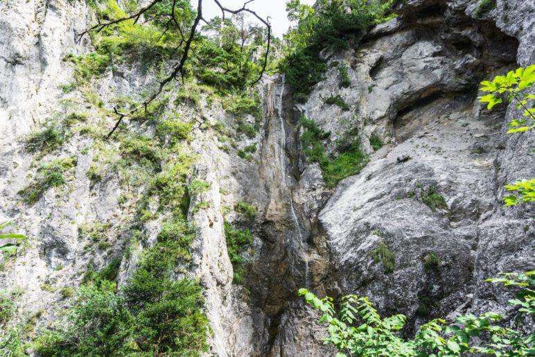 Bei unserem Besuch war er nicht so beeindruckend: Der Kaltenbach-Wasserfall