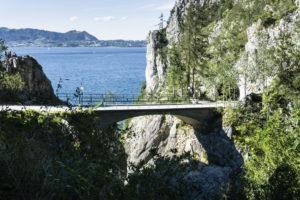 Wieder an der Lainaubrücke