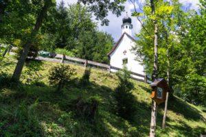 An der Kapelle Maria Tax