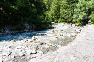 Der Stanser Bach oberhalb der Wolfsklamm