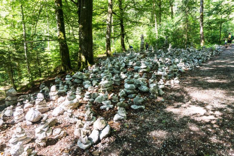 Das sind wohl mehrere hundert Steinmanndl