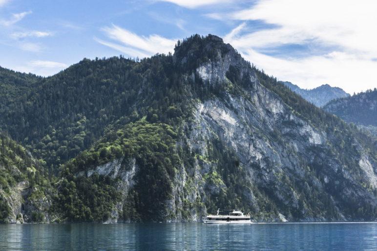 Der Kleine Schönberg, von der Seeseite aus gesehen