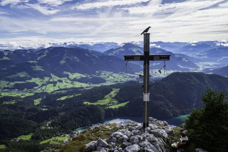 Am Zettenkaiserkopf über dem Hintersteiner See - Foto: Andreas Gruhle