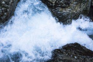 Der Wimbach als Wildwasser