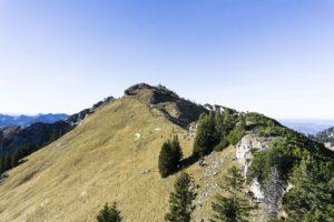 Ein Blick zurück zum Wildalpjoch von der Käserwand aus