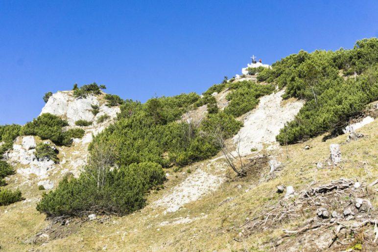 Das Gipfelkreuz des Seewandköpfls