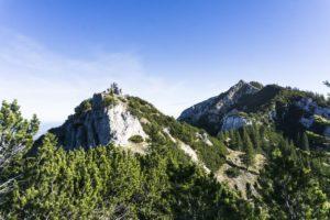 Die Gipfel von Seewandköpfl und Wildalpjoch