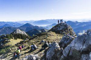 Gipfelblick vom Wildalpjoch aus
