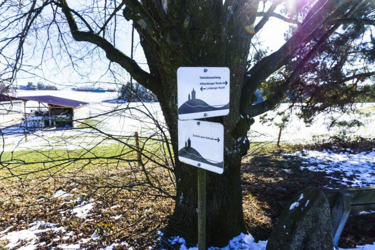 Höhenberger oder Limberger Route? Der Ort der Entscheidung