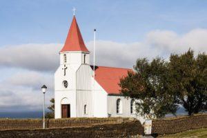 Die Kirche von Glaumbær