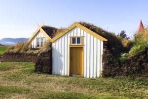 Ein kleineres Haus, etwas abseits