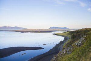 Das südlichen Ende des Húnafjörður