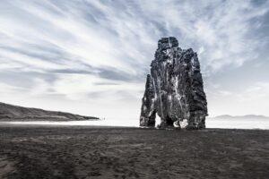 Der Hvítserkur im Hunafjord, was für ein tolles Fotomotiv!