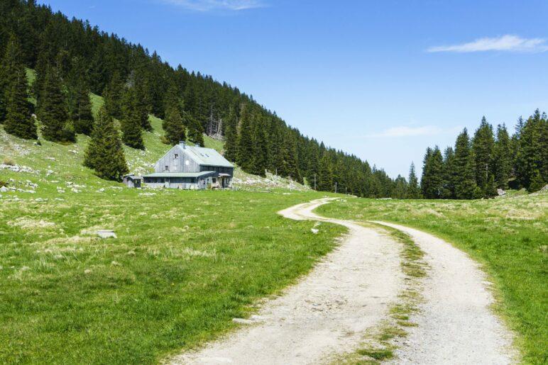 Auf dem Weg zur Riesenhütte