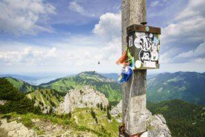 Risserkogel Gipfelkreuz