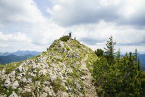 Der Gipfelfels des Risserkogel