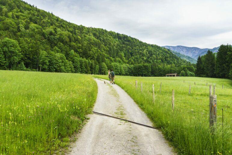 Auf dem Weg nach Wildbad Kreuth