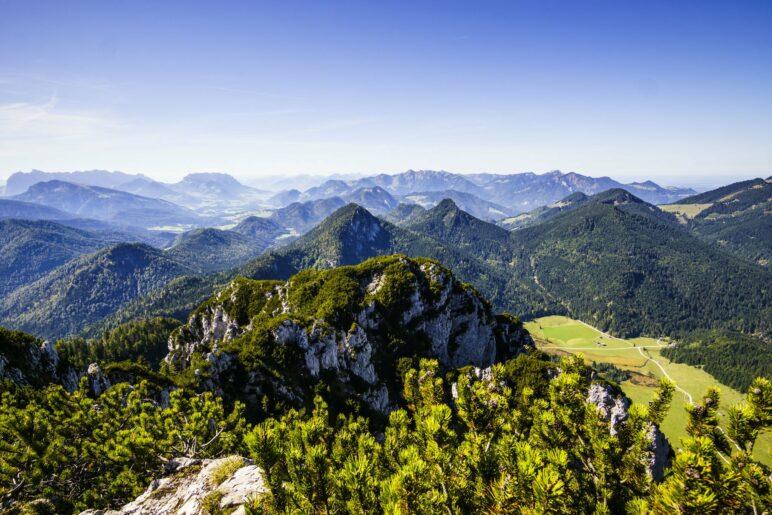 Belohnung nach 1000 Höhenmetern: Der Kaiserblick vom Gipfel des Gurnwandkopf.