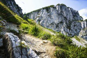 Auf dem Abstiegsweg durch das Ostertal